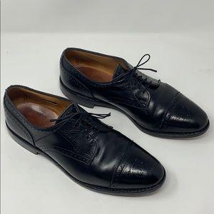 Allen Edmonds Sanford 10.5 Oxford Black Dress Shoe
